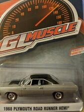Greenlight | 1:64 Muscle Series 22 - 1968 Plymouth Road Runner Hemi