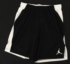 8f420e7e92f4 Nike Men s Jordan Flight Air Shorts White Black AR2830 Size XL