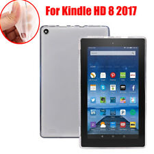 1* Ultra-thin Soft Gel TPU Case Cover Protector For Amazon Kindle Fire HD 8 2017