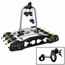 Heckträger VDP-TBA4 Fahrradträger abschließbar 4 Räder klappbar für AHK
