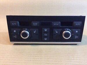 Audi Q7 4.2TDI 2008 Heater Climate Control Unit Panel 4L0820043L 4l0820043l