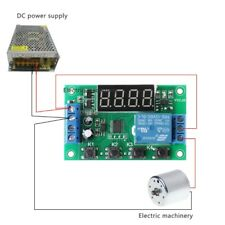 12V Infinite Cycle Delay Timer Relay PulseTrigger On/Off Timing Circuit Switch