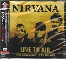 NIRVANA-LIIVE TO AIR - THE GREATEST HITS ON AIR-IMPORT 2 CD WITH JAPAN OBI F83