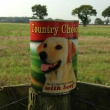 48 x 400g Tins Country Choice Complete Tinned Wet Dog Food - BEEF
