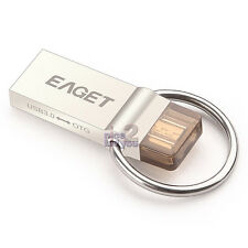 EAGET V90 64GB USB 3.0 Waterproof Micro OTG Flash Drive Key Ring Android Phone