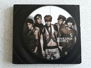 K POP Super Junior 005 Mr Simple Ltd Edition CD & Photobook SMK0059 UK Seller
