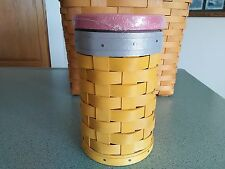 Longaberger #2 Pencil Basket w/lid & protector Ready to ship Great teacher gift