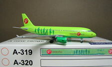 Aeroclassics 1/400 S7 A319 VP-BTO Diecast Metal Model Plane