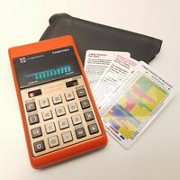 VTG Toshiba Electronic BC1010-BJ Calculator & Casino Blackjack Game Japan