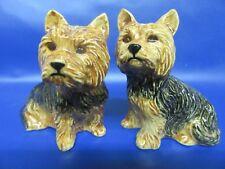 Yorkshire Terrier Salt and Pepper Pots Yorkshire Terrier Dog Cruet - New & Boxed