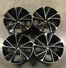"""19"""" NEW 2020 RS7 Performance Style Wheels Black Machined Audi A4 A5 A6 A7 A8"""