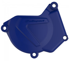 NEW POLISPORT IGNITION COVER PROTECTOR BLUE FOR YAMAHA YZ250 2000 - 2018