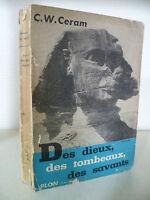 Delle Divinità Delle Tombe Delle Studiosi Ceram Plön 1953