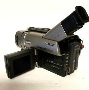 Sony Handycam Vision CCD-TRV37 8mm Nightshot Camcorder 200X Zoom Night Vision
