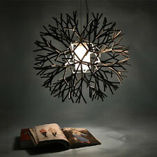 Modern Round Crystal Living Room Dining room Chandelier Pendant Lighting Lamp US