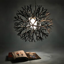 Vintage Modern Fixture DIY Round Ceiling Light Lighting Pendant Chandelier Lamp
