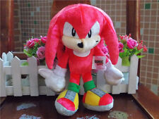 "New Tomy Boom Sonic 25th Anniversary 8"" Knuckles Plush Doll Toy"
