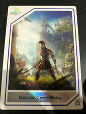 PlayStation Experience 2018 Card Assasin's Creed Odyssey