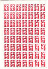 PLANCHE DE 56 TIMBRES FRANCE  FAUX DE MARSEILLE N° MAURY N° 2623 C 3360€