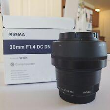Sigma Lens 30mm F/1.4 DC DN Contemporary 016 Lens