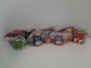 2000 McDonald's Happy Meal Toys Lot of 8 Furbys