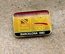 NOC Trinidad & Tobago 1992 Barcelona OLYMPIC Games Pin LOGO