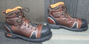 "Mens Thorogood Gen-Flex Series 6"" Composite Safety Cap Toe Work Boots 12 W"