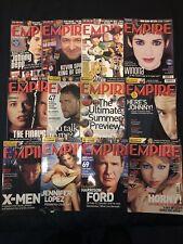 EMPIRE MOVIE FILM MAGAZINES FULL SET 2000 127 To 138 X Men Star Wars Total