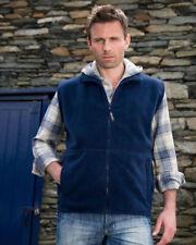 Men's Zip Fleece Gilets Bodywarmers Coats & Jackets
