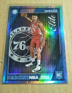 2016-17 Panini NBA Hoops Elite Rookie Card - Ben Simmons Philadelphia 76ers RARE