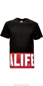 Alife - Blocked Logo Tee T-Shirt - Various Sizes - New with Tags - Black