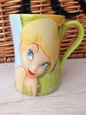 Disney Store Exclusive Tinkerbell fairy 3D Mug cup '100% Tink' Peter Pan