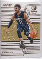 2015-16 Panini Clear Vision Gold #/10 Mike Conley Memphis Grizzlies #23 Rare