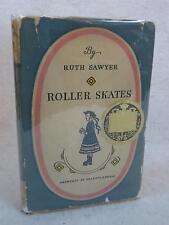 Ruth Sawyer ROLLER SKATES 1941 Viking Press 5th Printing VALENTI ANGELO Newbery
