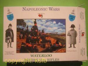 1:32 Figuren Call to Arms #35 Napoleon British 95th Rifles Scharfschützen
