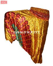 Indian Ali Baba Harem PantS Hippie Yoga Stylish Jumpsuit Trouser New Smock Satin