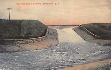 Brewster New York Spill Way Sodom Reservoir~Peacock Series Postcard 1907