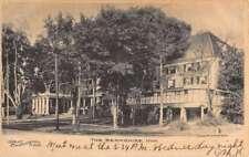 Great Barrington Massachusetts Berkshire Inn Street View Antique Postcard K73227
