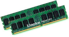 2x 2gb 4gb memoria RAM KINGSTON ddr2 800 MHz kvr800d2n6/2g pc2-6400 240p