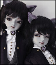 1/4 BJD doll Cheshire Cat (both head) Animal body free eyes , no  make up
