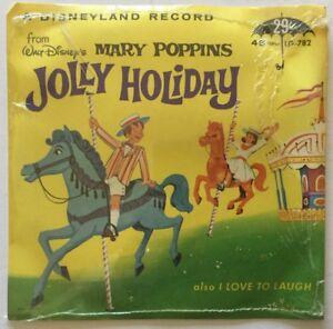 Walt Disney Little Gem Record JOLLY HOLIDAY - MARY POPPINS Disneyland LG-782  SS