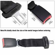 Safe 2PCS Car Seat Seatbelt Safety Extender Belt Clip Extension 14.8'' BUCKLE