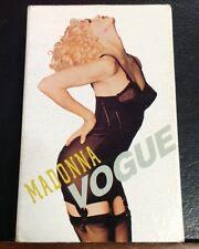 Madonna Vogue Cassette Single