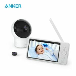 Video Baby Monitor, eufy Security Video Baby Monitor with Camera and Audio,