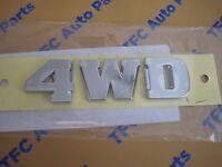 Toyota 4Runner Rear 4WD Chrome Rear Emblem Badge Genuine OEM New  2003-2009