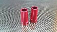 Axial Wraith Upgrade Parts Aluminum Straight Axle Adapter - 1 Pr Red