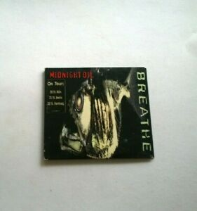 Midnight oil breathe   Compact Disc CD free postage