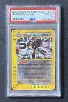 Pokemon PSA 10 Magneton Holo Aquapolis  #H16/H32 Gem Mint