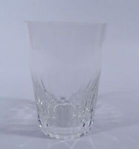 Hirschberg Wasserglas Becher Prisma H 10 cm Design Prof. Braun-Feldweg 1960
