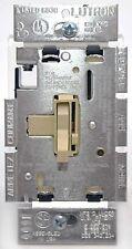 Lutron Toggler TG-600P-IV Single Pole Dimmer Toggle/Slide Light Switch IVORY oem